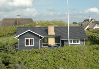 Førsteklasses hytte nær sjøen på Faarup Klit